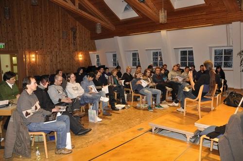 Teilnehmer im Kammermusiksaal