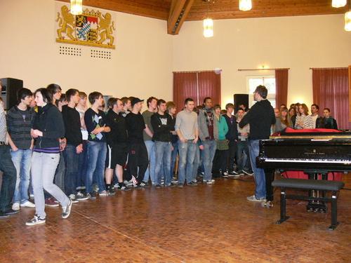 Bild:Der Chor