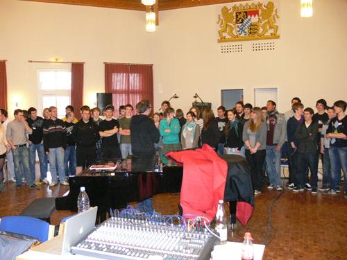 Bild:The BandCamp Allstar Voices mit Shakles
