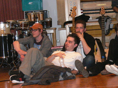 Bild:Dominik, Maxi und Matthias