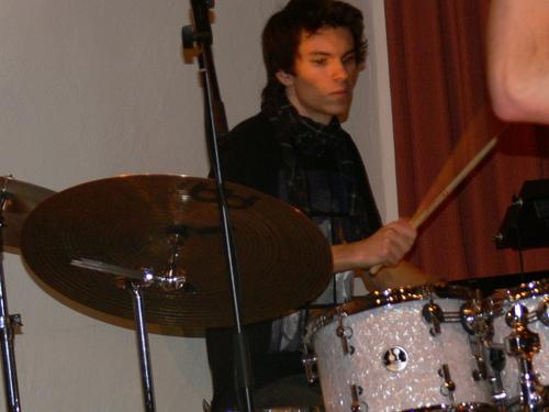 Bild:Andi an den drums
