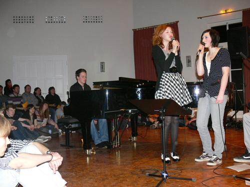 Bild:Gunther, Veronika und Tatjana