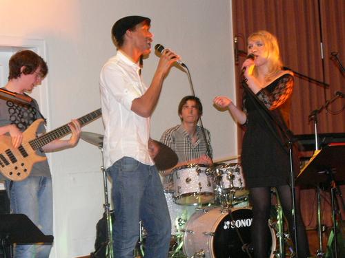 Bild:Klemens, Christopher, Florian und Christina