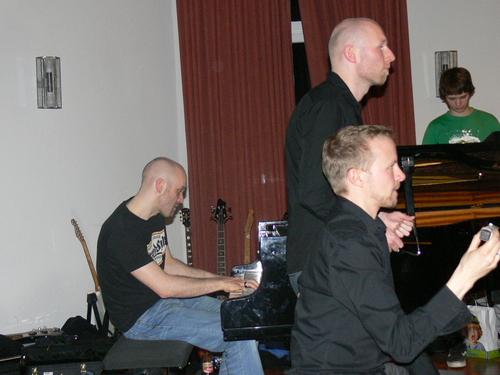 Bild:die Dozenten Daniel, Ingo und Stephan