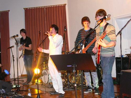 Bild:Jens, Melvin und 2 x Jonas