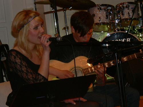 Bild:Christina und Ismael bei ihrer Ballade