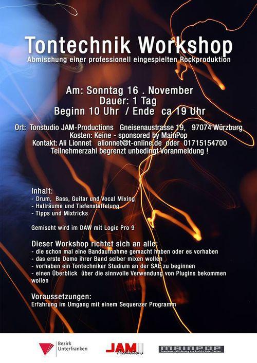 Tontechniker workshop